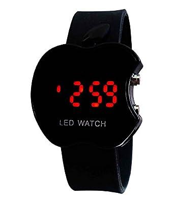 Ritoto Digital Black Apple Dial Led Watch Boys