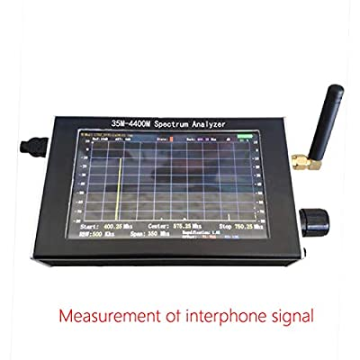 35-4400M RF Optical Spectrum Analyzer With Tracking Source Module +LCD +Case USB