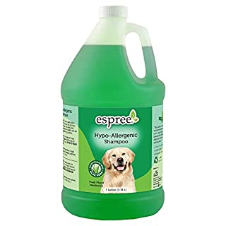 Espree Hypo Allergenic Shampoo for Dogs & Cats   Formulated with Organically Grown Aloe Vera   1 Gallon