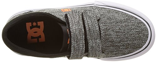 DC Shoes Trase V - Botas Niños Multicolor (Black / Grey)