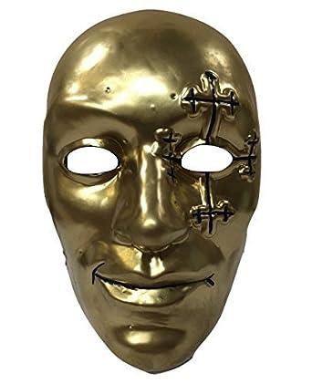 Amazon WRESTLING MASKS UK Mens Danny Boy Hollywood Undead Style Mask One Size Multicoloured Clothing