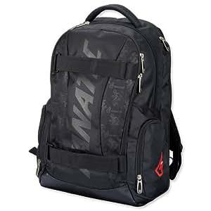 Fanactic Lightpack - Mochila de poliéster con bolsillo para portátil con cremallera, espalda y tirantes acolchados