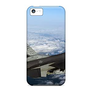 New Customized Design F 16 Fighting Falcon Aircraft For Iphone 5c Cases Comfortable For Lovers And Friends For Christmas Gifts