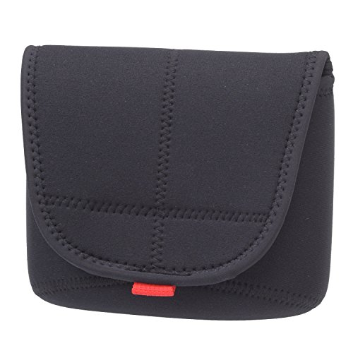 Matin Digital SLR Compact Camera Body Case Black V2 - (Large) New Upgraded Version
