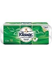 Kleenex Ultra Soft Scented Scented Bath Tissue, Aloe Vera, 200ct (Pack of 10)