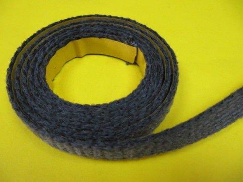 Dichtschnur Dichtband schwarz 15x2mm selbstklebend Ofendichtung Termoseal