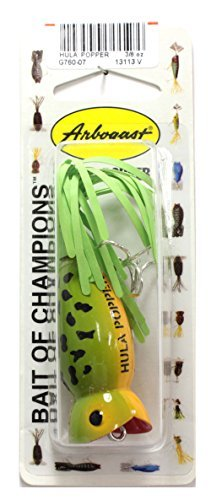 - Arbogast Lure Company Hula Popper Fishing Lure by Arbogast Lure Company