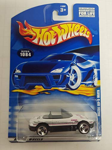 MAZDA MX-5 MIATA Hot Wheels 2001 diecast 1/64 scale car No. 1084 (Best Wheels For Mx5)