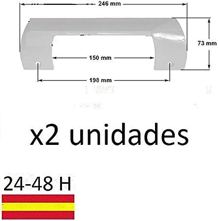 DOS UNIDADES TIRADOR MANETA PUERTA FRIGORIFICO KIT BALAY BOSCH ...