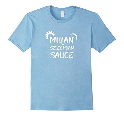 Men's Official Mulan Szechuan Sauce T-shirt Medium Baby Blue (Baby Mulan)