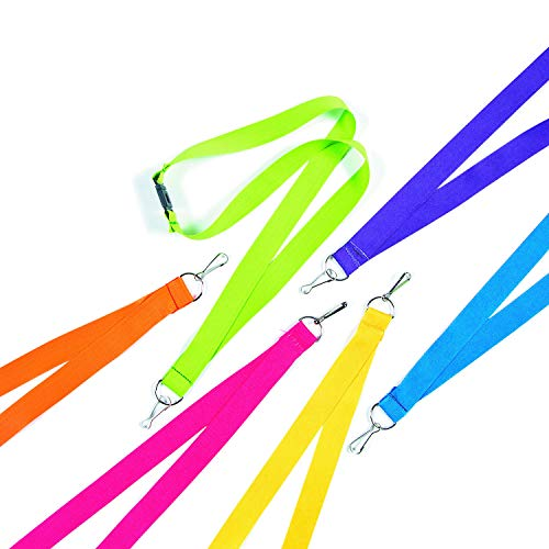 Colored Coil Lanyard - 4
