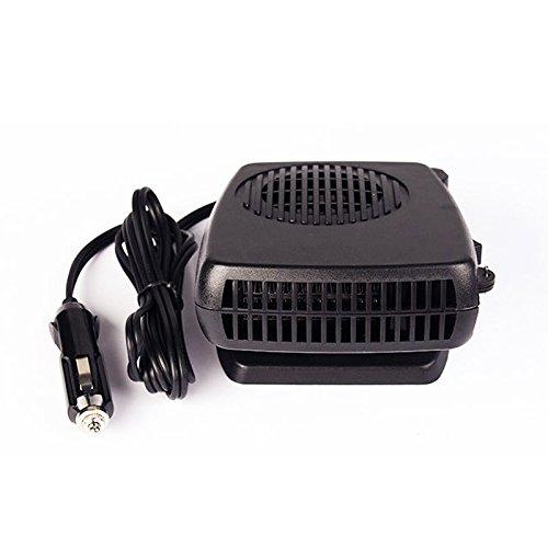 Cikuso Nouvelle Voiture Chauffage Air Refroidisseur Ventilateur Pare-Brise Desembuer Degivreur 12V