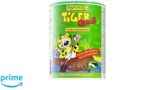 Rapunzel bio Tiger Quick HIH Instant Botella de chocolate de carga (1 x 400 gr): Amazon.es: Alimentación y bebidas