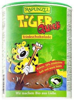 Rapunzel bio Tiger Quick HIH Instant Botella de chocolate de carga (1 x 400 gr