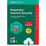 Kaspersky Internet Security 2018 | 3 Device | 1 Year [Download]