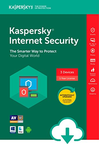 Kaspersky Internet Security Esd   3 Device  Pc Mac Online Code