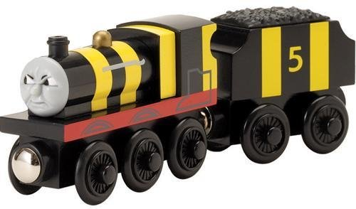 Busy As a Bee James - Thomas Wooden Railway in bulk poly bag package. -