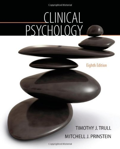 By Timothy J. Trull - Clinical Psychology (8th Edition) (1/16/12)
