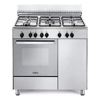 cocina A Gas 5 fuegos Horno eléctrico Multifuncional con grill 90 ...