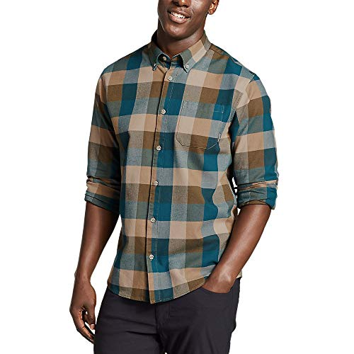 Eddie Bauer Men's Eddie's Favorite Flannel Classic Fit