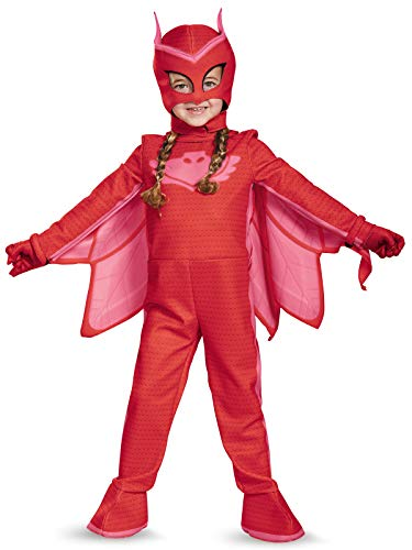 Owlette Deluxe Toddler PJ Masks Jumpsuit with Attached Boot Covers, Medium/3T-4T]()