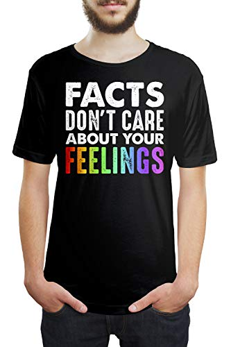 Facts Don't Care About Your Feelings Unisex T Shirt Tee Shirts (3XL)