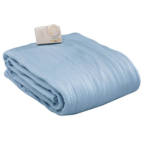 Biddeford Blankets Comfort Knit Heated Blanket, Queen, Cloud