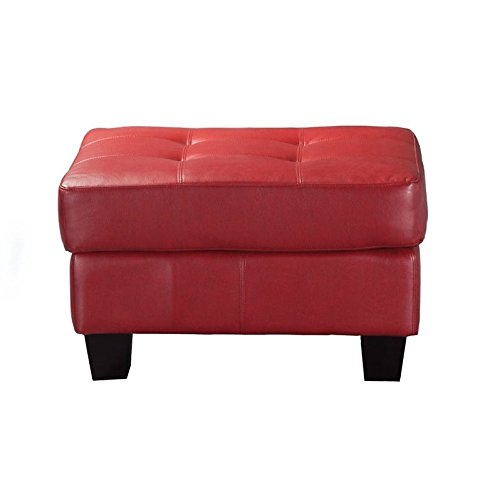 Brilliant Red Leather Ottomans Storage Coffee Table Etc Gamerscity Chair Design For Home Gamerscityorg