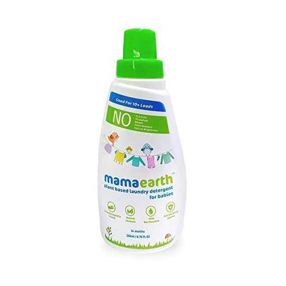 Mamaearth Plant Based Laundry Detergent - 200ml
