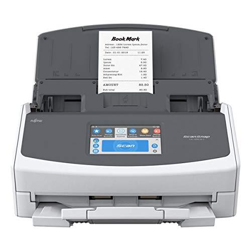 Fujitsu ScanSnap iX1500 Deluxe with Adobe Acrobat DC Pro for Mac & PC (White)