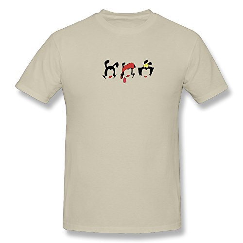 TEE-Men's Animaniacs Silhouette Short Sleeve Shirt.