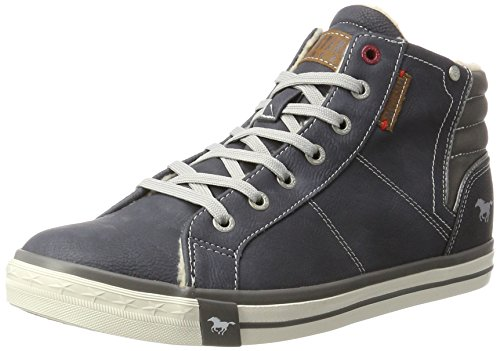 Herren 4096 601 Mustang Hohe 800 Dunkelblau Blau Sneaker wU65dqH5