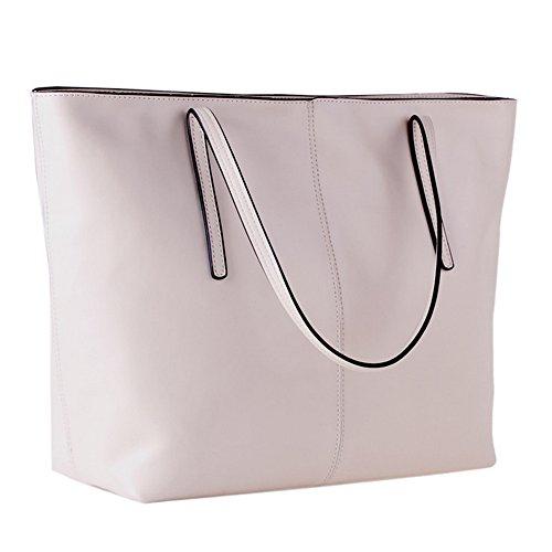 cuir femmes sac à des main dames véritable en des Blanc Sacs bandoulière à pour de qHtZCB