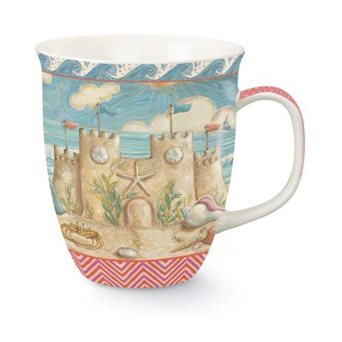 Seaside Castle - Cape Shore Sandcastle 16 Ounce Coffee or Tea Mug