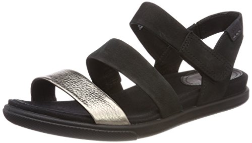 Ecco Donna, Sandalo Moderno Damara Grigio