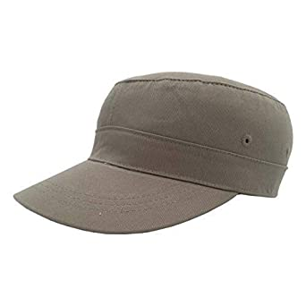 WORK AND STYLE Gorra Militar Classic by Verde Oliva, 58 cm: Amazon ...