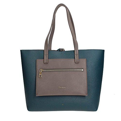 Pollini SC4522PP04SE1 Bolso Shopper Mujer Blue