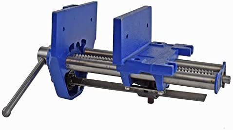 """9/"""" Yost M9WW Rapid Acting Wood Working Vise Blue 21 Pounds New"""