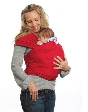 Nava New Red Baby Sling Carrier Baby Twin Toddler Pouch Wraps