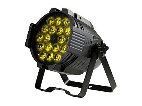Monoprice Stage Wash 18 Watt x 18 LED PAR Stage Light (RGBWA-UV) by Monoprice