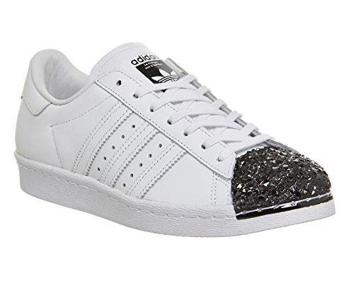 Adidas core Blanc White Toe White Tf Black ftwr W Metal Superstar 80s Ftwr arqxFapUv