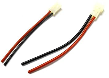 C9012 RC Male & Female AMP -SteckerAnschluss -Kabel mit 10cm Draht ...