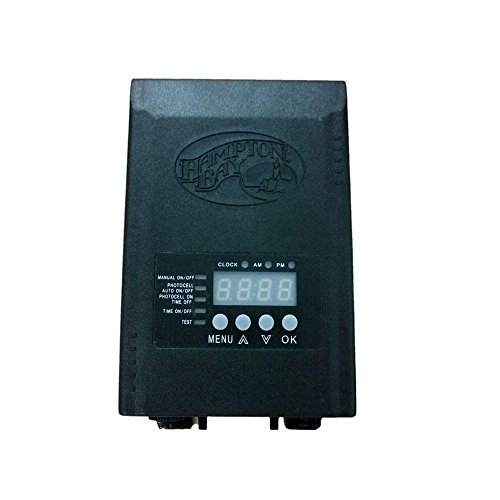 - Hampton Bay Low-Voltage 45-Watt Landscape Transformer