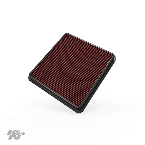 K&N Engine Air Filter: High Performance, Premium, Washable, Replacement Filter: 2007-2019 Toyota/Lexus V8 Truck and SUV (Land Cruiser, Tundra, Sequoia, LX 570), 33-2387