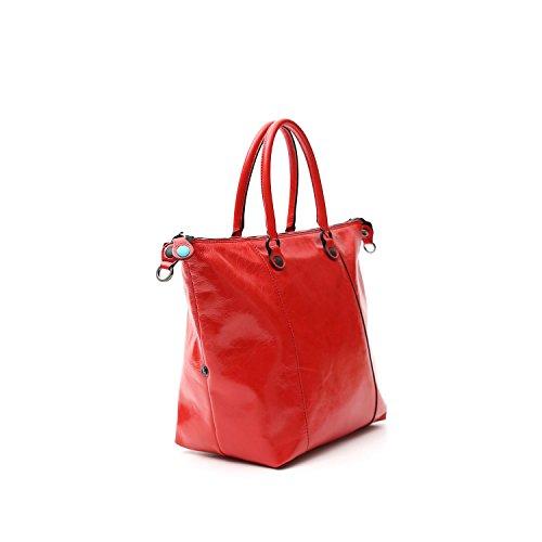 Rossa G3 Gabs Pelle Shopping Lucida M Trasformabile Bora In 0wUxv6q