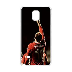 Manchester United Samsung Galaxy Note 4 Cell Phone Case White Special gift AJ871P4U