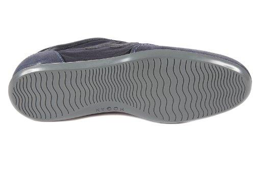 Hogan Herenschoenen Heren Leren Schoenen Sneakers Olympische Blu