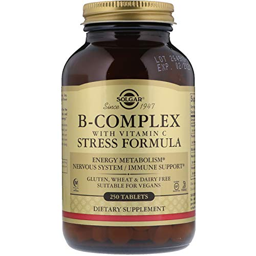 (Solgar - B-Complex with Vitamin C, 250 Stress Formula Tablets)