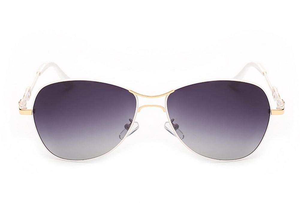 HETAO Persönlichkeit Neue Art- und Weisedame-Sonnenbrille-Steigungspolarisator Dekorative Gläser