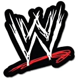 "WWE World Wrestling Entertainment sticker decal 4"" x 4"""